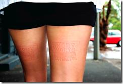 реклама нога  novosti