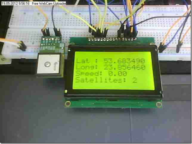 Skylab SKM53 GPS Arduino Mega 2560 Arduino  arduino