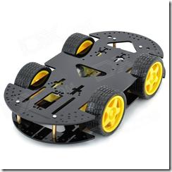робот мотоплатформа Ведроид мобиль ZL 4WD Arduino  arduino