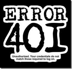ошибка Авторизация Wordpress Unauthorized 401  wordpress