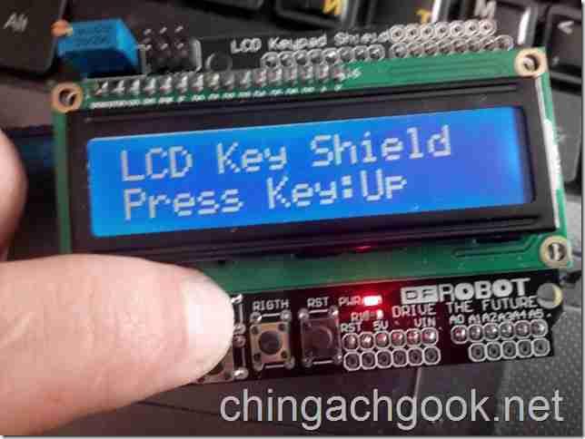 подключение Shield LCD Keypad Arduino  arduino