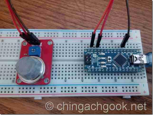 пропан метан дым датчик газ водород бутан Алкоголь MQ2 CG312 Arduino  arduino