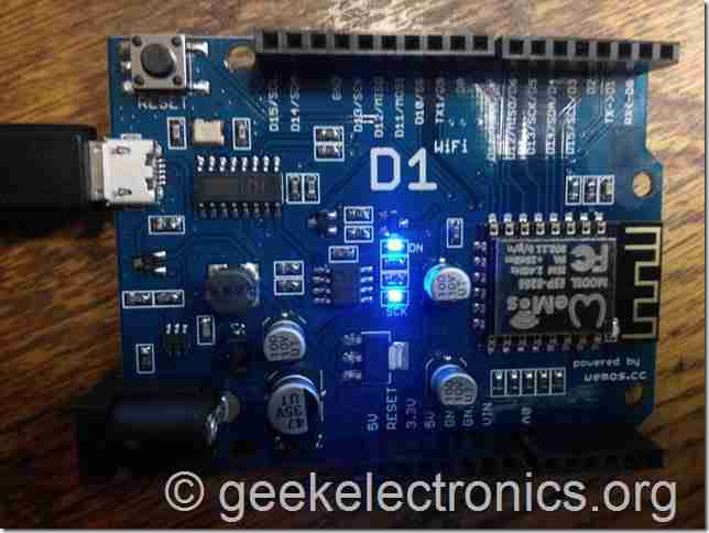 контроллер Wi Fi WeMos Arduino  arduino
