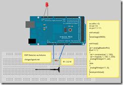 электромагнитное поле EMF детектор EMF Detector Arduino  arduino