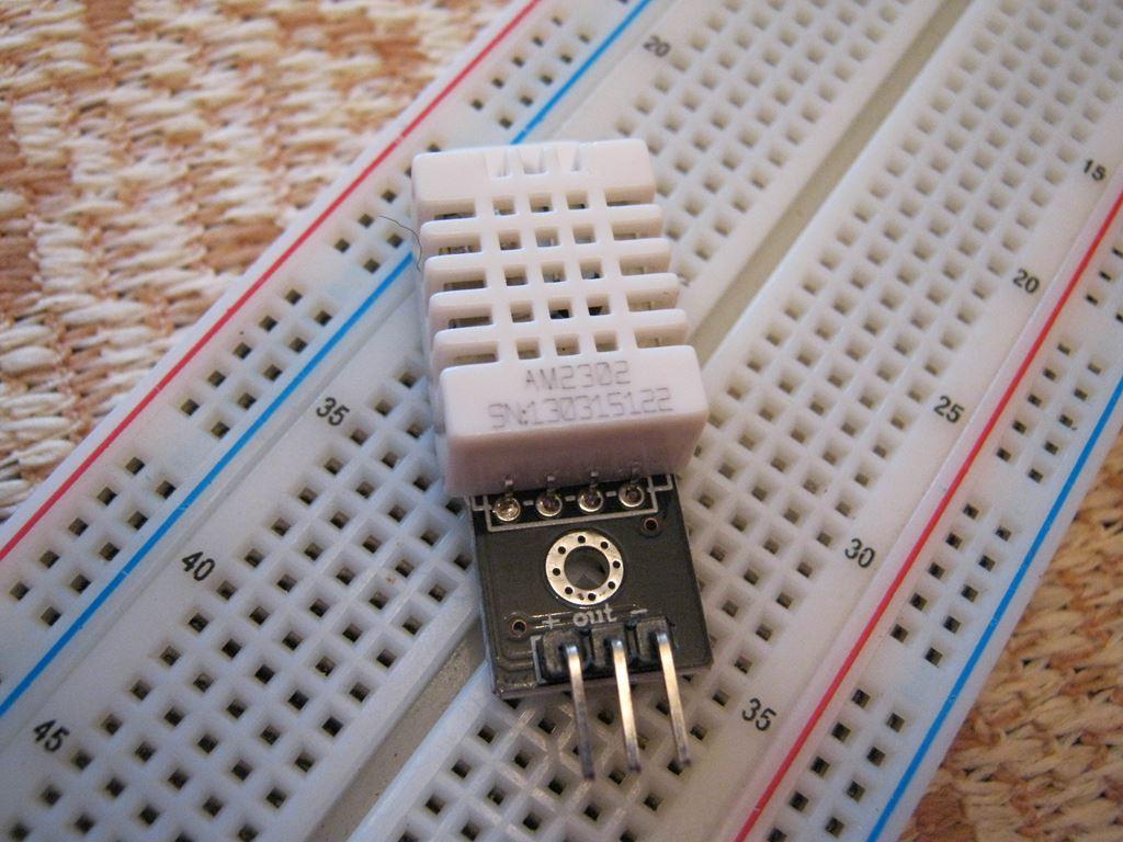 DHT22 подключение к Arduino