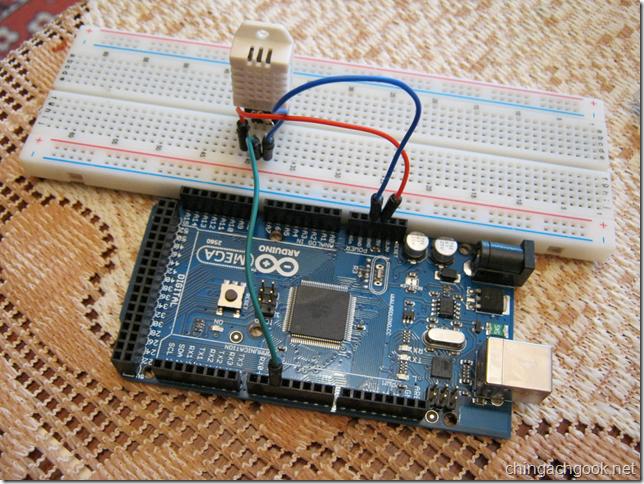 температура влажность DHT22 Arduino  arduino