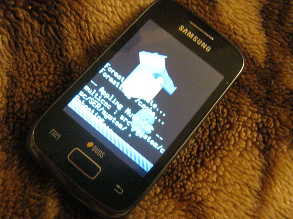 Samsung galaxy y duos программы