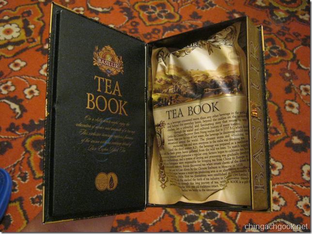 чай Книга Tea Book  obo mne