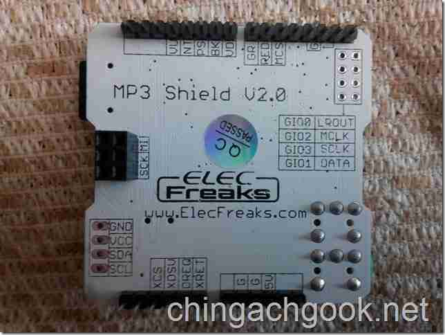 подключение Shield MusicPlayer mp3 Arduino  arduino
