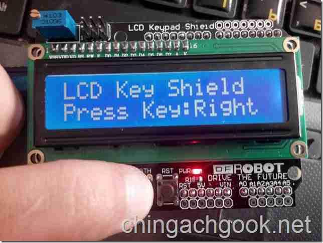Подключение LCD Keypad Shield к Arduino