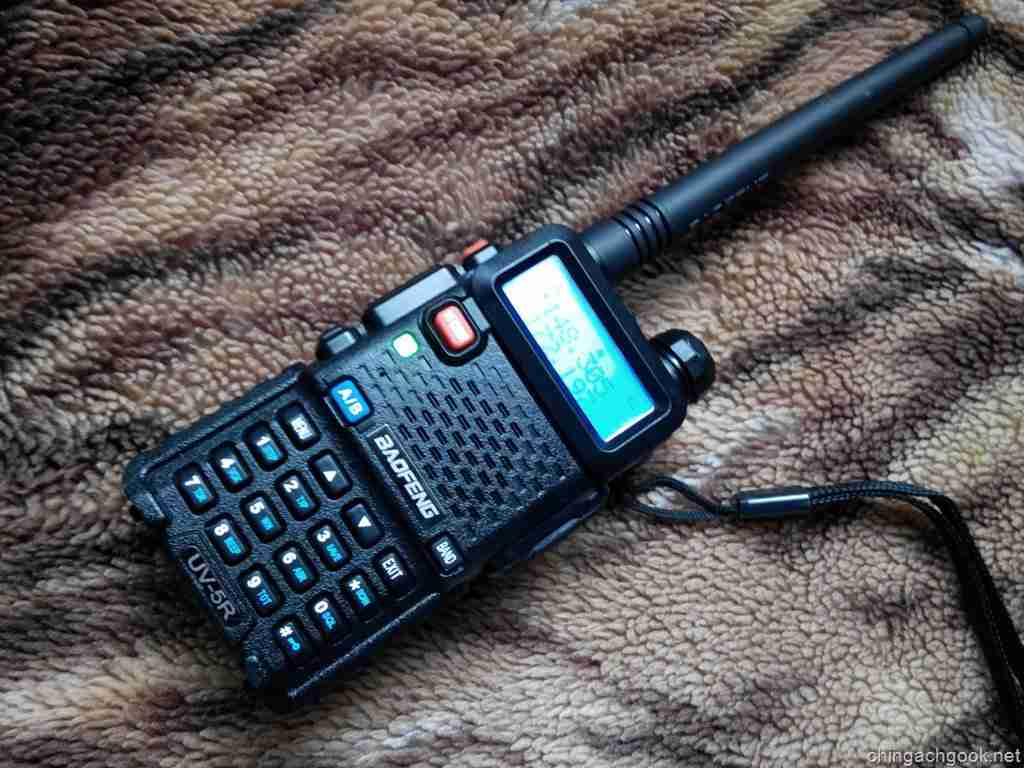 Обзор радиостанции Baofeng UV-5R