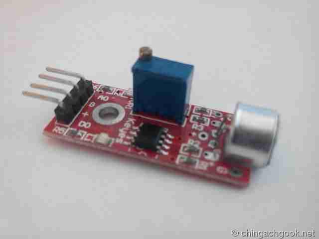 Подключение микрофонного модуля к Arduino