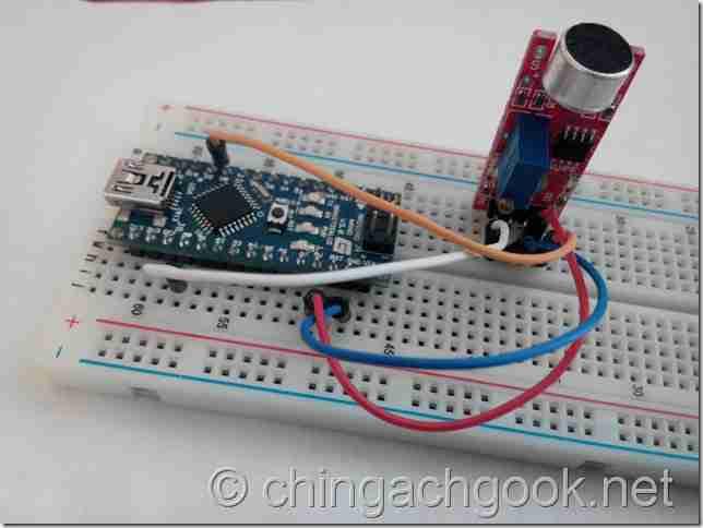 микрофон Arduino  arduino