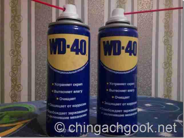средство оса метод борьба WD 40  obo mne