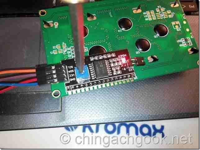 подключение I2C экрана к Arduino