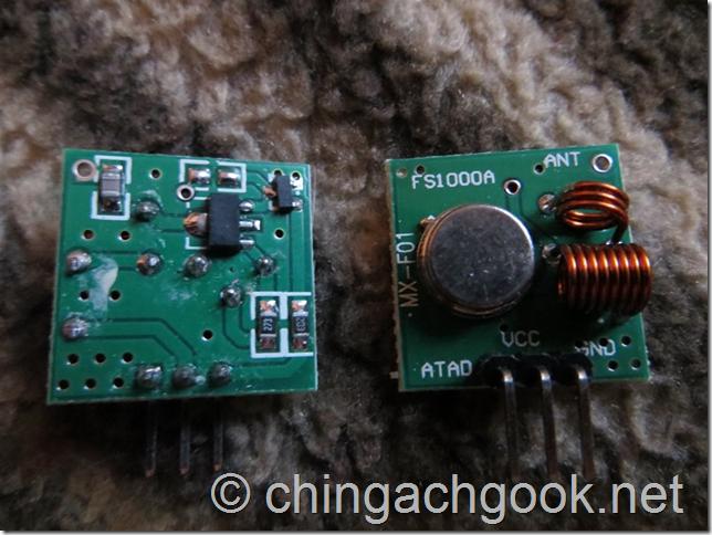 Arduino – передача данных по радиоканалу на частоте 433.920 МГц