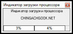 Индикатор загрузки процессора на Delphi