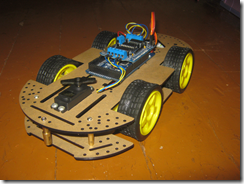 Ведроид-мобиль — робот на Arduino — Часть 2. Подключаем Motor Shield